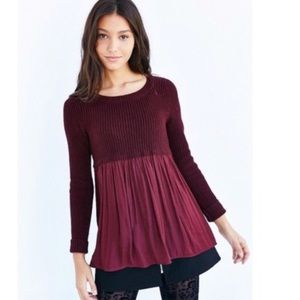 Babydoll sweater